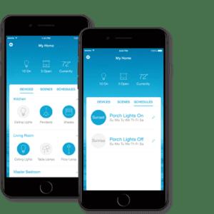 אפליקציית LUTRON